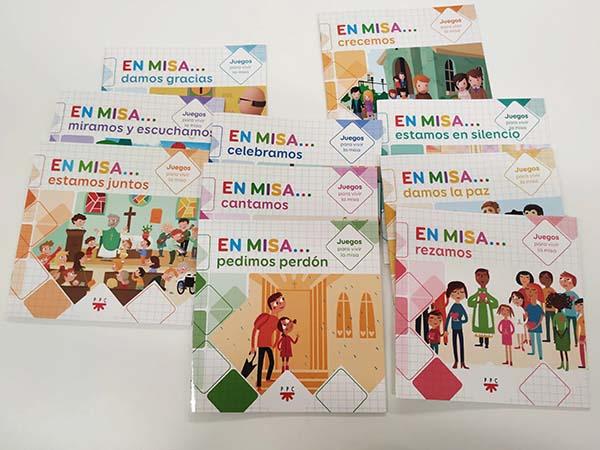En Misa. Pack de 10 cuadernos de juegos