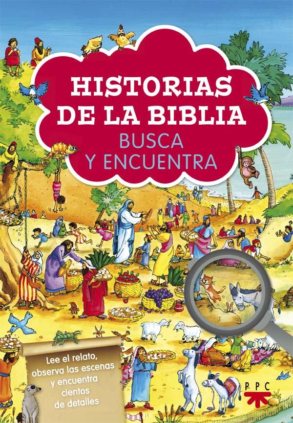 Portada del libro Historias del Biblia, busca y encuentra, de PPC