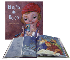 Portada del libro El niño de Belén, de Hortensia Muñoz, PPC