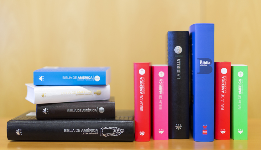 varias biblias editadas por PPC