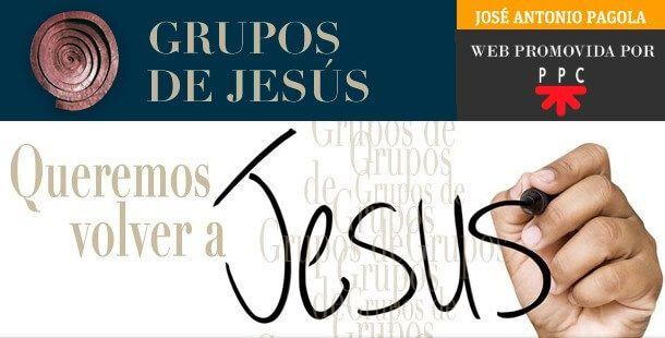 Banner de la web Grupos de Jesús, promovida por José Antonio Pagola y PPC