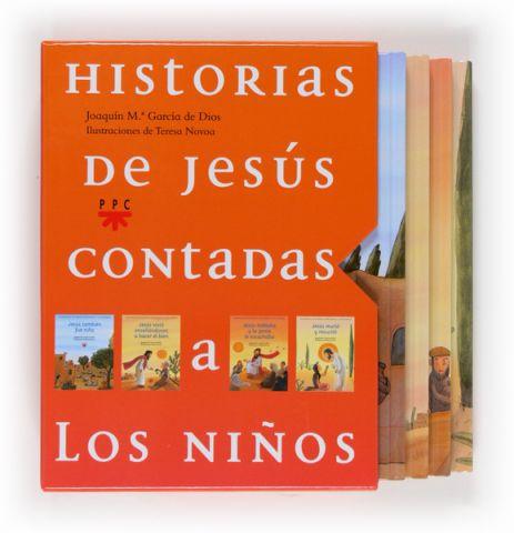 Historias de Jesús contadas a los niños [estuche]