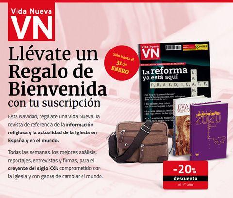 revista Vida Nueva oferta suscripcion navidad