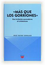 """""""Más que los gorriones"""" (eBook-ePub)"""