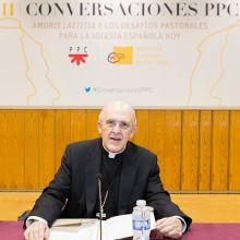 Monseñor Carlos Osoro en las II Conversaciones PPC