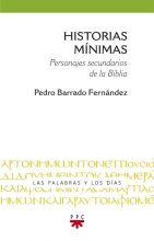 Portada del libro Historias mínimas, de Pedro Barrado, PPC